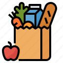 food, grocery, store, supermarket icon