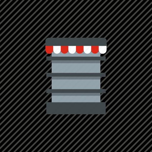 business, market, product, shelf, shop, showcase, store icon