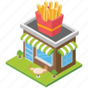 fast food shop, food corner, food point, fries shop, restaurant