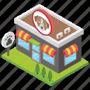 dog shop, dog store, pet care, pet food, pet market icon