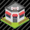 dog store, pet care, pet food, pet market, pet shop icon