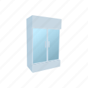 cartoon, door, food, fridge, shop, supermarket, temperature icon