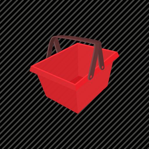 basket, buy, cart, cartoon, commerce, shop, supermarket icon