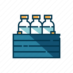 box, case, container, crate, package, storage icon