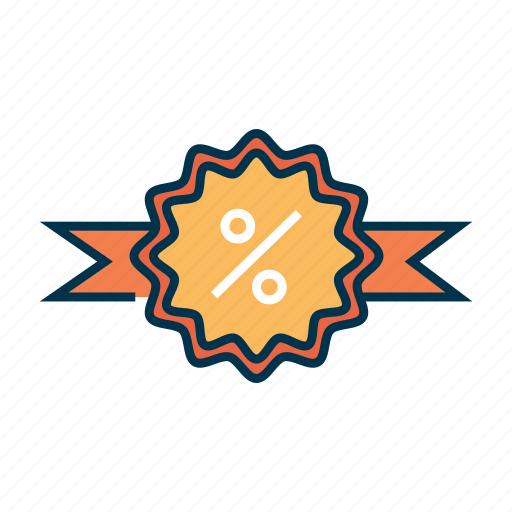 discount, label, offer, price, sale, sign icon