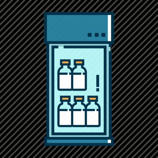 cooler, food, freezer, fridge, kitchen, refrigerator icon