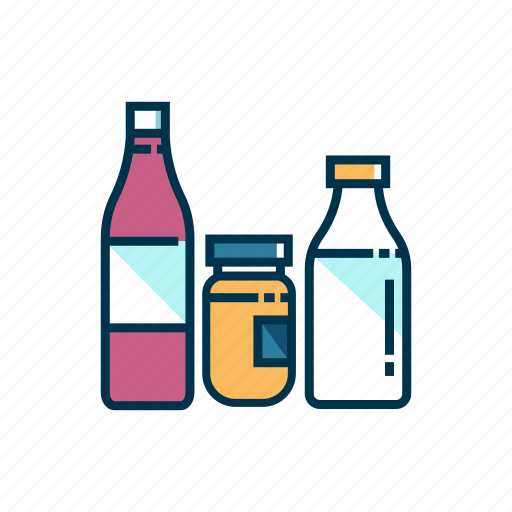 food, groceries, pack, product, store, supermarket icon