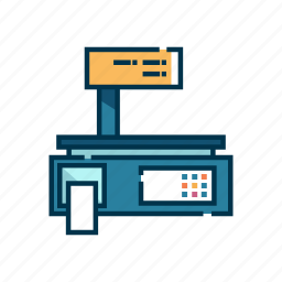 balance, measurement, scale, tool, weight icon
