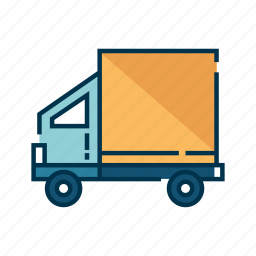 cargo, delivery, transport, transportation, truck, vehicle icon