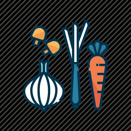 food, fresh, green, healthy, market, organic, vegetable icon