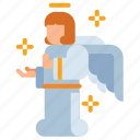 angel, christmas, fairy, wings icon