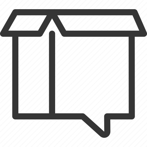 box, customer, package, product, service, support icon