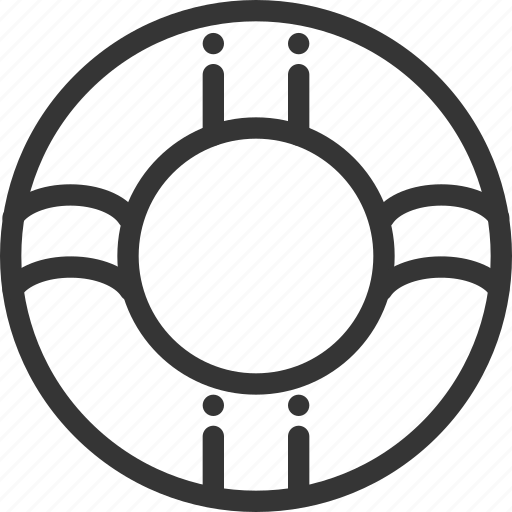 buoy, customer, help, life, service icon