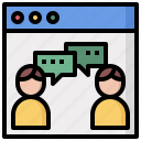 bubble, chat, communication, conversation, multimedia, speech icon