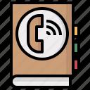 telephone, phone, call, telephones, agenda, receiver, interface icon