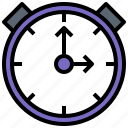 clock, alarm, timer, utensils, time, tools icon