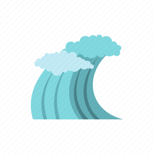 nature, ocean, sea, summer, surf, water, wave icon