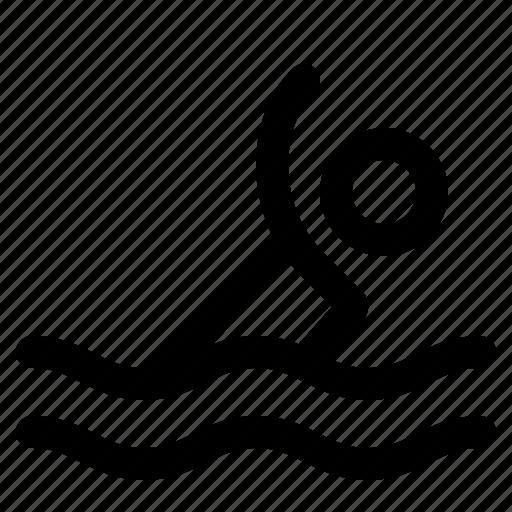pool, sport, swim, swimmer, swimming, water icon