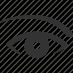 double eye lid surgery, eye, eye lift, eyelid surgery, look, see, upper blepharoplasty icon