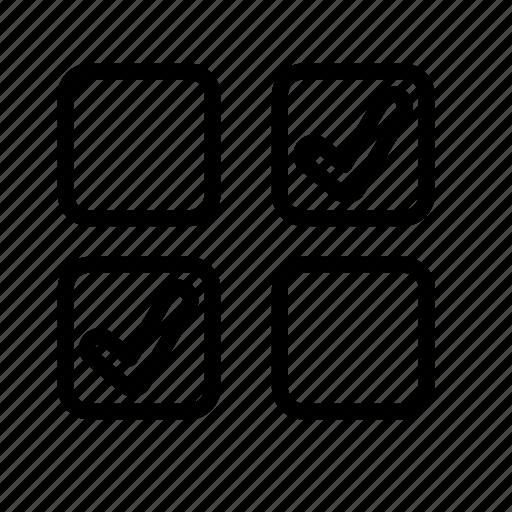 Icon, line, checklist, clipboard, business icon - Download on Iconfinder