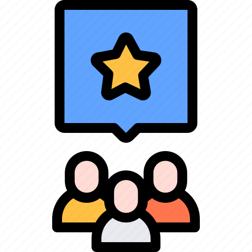 audience, online, polling, survey icon