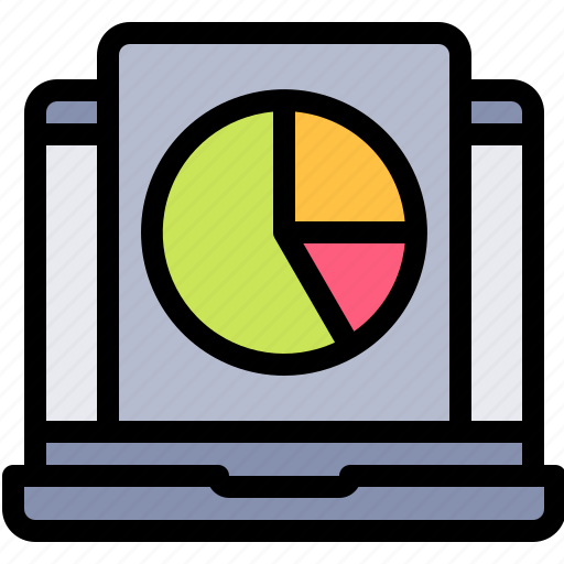 audience, chart, online, pie, polling, survey icon