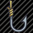 hook, fish, fishing, bait, equipment, hanging, fishhook