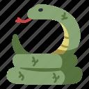 snake, animal, wildlife, wild, nature, reptile, serpent