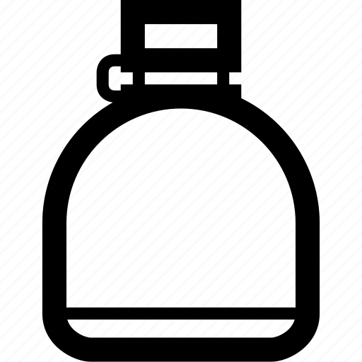bottle, canteen icon