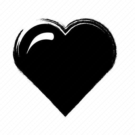heart, love, sumie, sushi icon