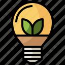 bulb, electronics, energy, green, light, lightbulb, renewable