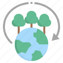abundance, earth, ecosystem, environmental, forest icon
