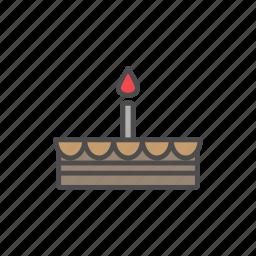 cake, candy, chocolate, cupcake, sweet, sweets icon