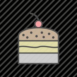cake, candy, cupcake, food, sweet icon