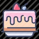 bakery, birthday, cake, dessert, food, sweet