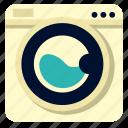 appliances, electronics, home, household, kitchen, washingmachine icon