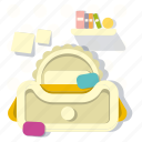 bed, furniture, home, house, interior, kidroom, room icon
