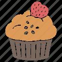 cake, cup, cupcake, cupcake icon, cupcake muffin, muffin, muffin icon icon