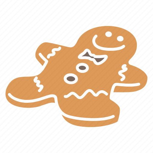 christmas, christmas cookie, cookie icon, ginger cookie, ginger read, gingerbread icon