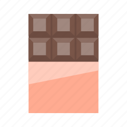 bar, choc, chocolate, dessert, sweet, sweets icon
