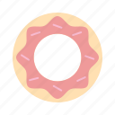 bakery, cake, donut, doughnut, pastry, sweet, sweets icon