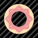 bakery, cake, donut, doughnut, pastry, sweet, sweets