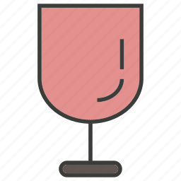cup, dessert, glass, sweets icon