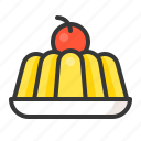 dessert, food, jelly, sweets icon