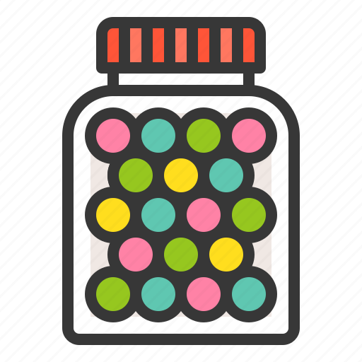Candy, candy jar, dessert, food, sweets icon - Download on Iconfinder