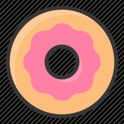 dessert, donut, food, sweets icon