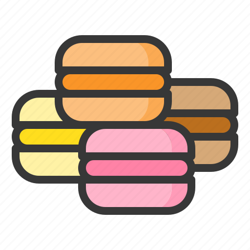 Dessert, food, macaron, sweets icon - Download on Iconfinder
