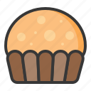 cup cake, dessert, food, muffin, sweets icon