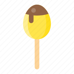 chocolate egg, dessert, food, sweets icon