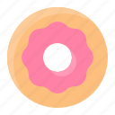 dessert, donut, food, sweets icon